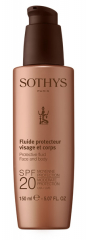 Молочко с SPF20 для лица и тела Sothys Protective Fluid Face And Body SPF20